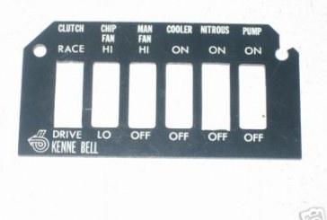 Ashtray Switch Panels