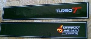 buick dash plaque overlays