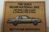 Buick Regal GNX Posters