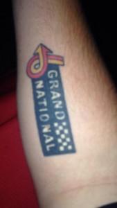 buick grand national logo tattoo