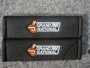 buick grand national seat belt pads