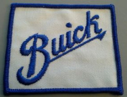 buick logo racing patch