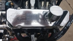 buick motorsports engraved valve covers