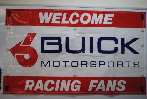 buick motorsports racing banner