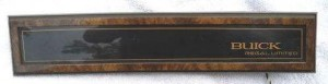 buick regal limited dash plate woodgrain
