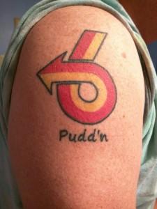 power 6 logo tattoo