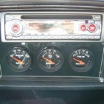 radio and gauges