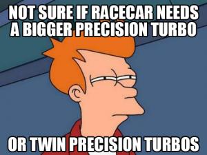 twin turbos