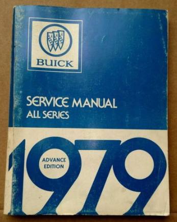 1979 buick service manual
