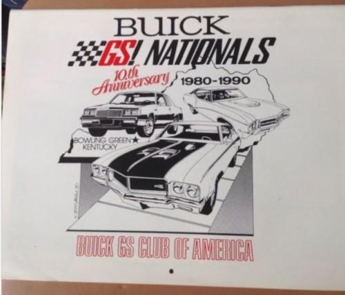 1990 Buick GS Club Calendar