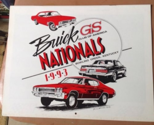 1993 Buick GS Club Calendar