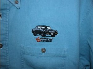 Buick Grand National Blue Denim Pocket Shirt with GN Embroidery 2