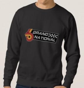 buick grand national logo sweatshirt