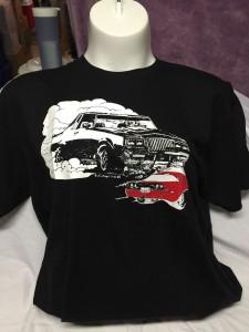 buick grand national vs corvette shirt