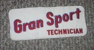 Buick Gran Sport Technician Patch