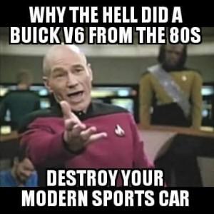 buick v6 succeeds