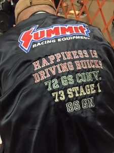 summit racing buick jacket