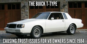 the buick t-type