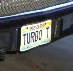 buick turbo t plate