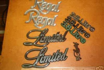 1978 1979 Buick Regal Emblems
