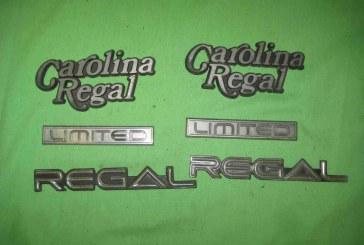 1984 Buick Carolina Regal Limited Emblems