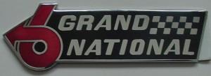 1986 LeSabre GN emblem