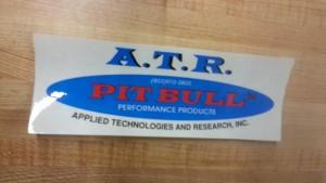 ATR pitbull sticker