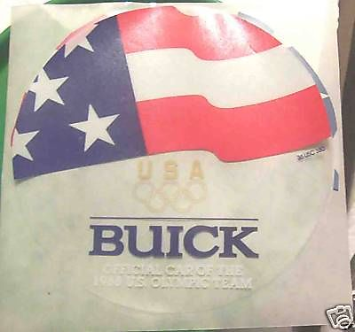BUICK DECAL OFFICIAL CAR 1988 OLYMPIC TEAM