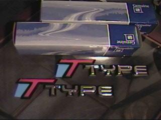 87 Buick Regal Turbo T fender badge