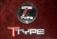buick t type emblems