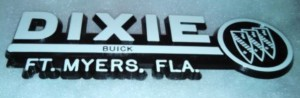 dixie buick dealership emblem