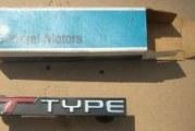 Buick Regal T-Type Emblems