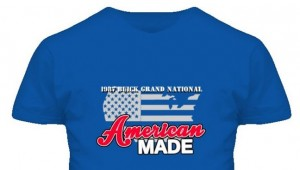 1987 buick grand national american made design shirt