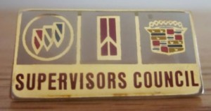 BOC supervisors council pin
