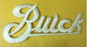 BUICK Embroidery Logo Iron On Patch
