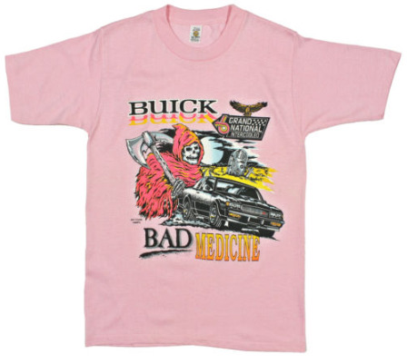 Pink Bad Medicine Buick Grand National shirt
