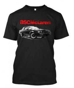 asc mclaren buick gnx shirt
