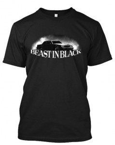 buick beast in black shirt
