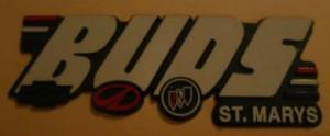 buds buick dealer emblem