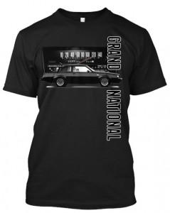 buick gn speedo t-shirt