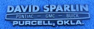 david sparlin buick dealer emblem