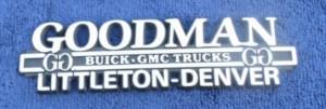 goodman buick dealer emblem