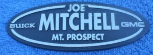 joe mitchell buick dealer emblem