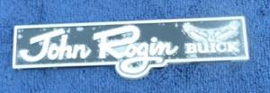 john rogin buick dealer emblem