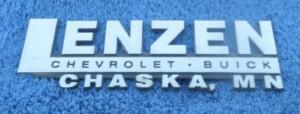 lenzen buick dealer emblem