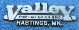 valley buick buick dealer emblem