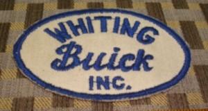 whiting buick mechanics patch