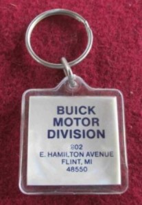 1970s buick motor division key fob