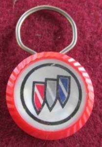 1970s buick plastic key fob