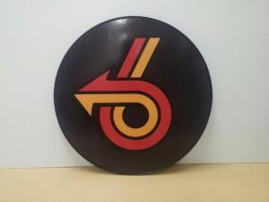 24inch plastic sign Buick Turbo 6 arrow